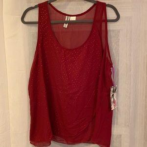 NWT Wurl Light Sleeveless Shirt Size XL